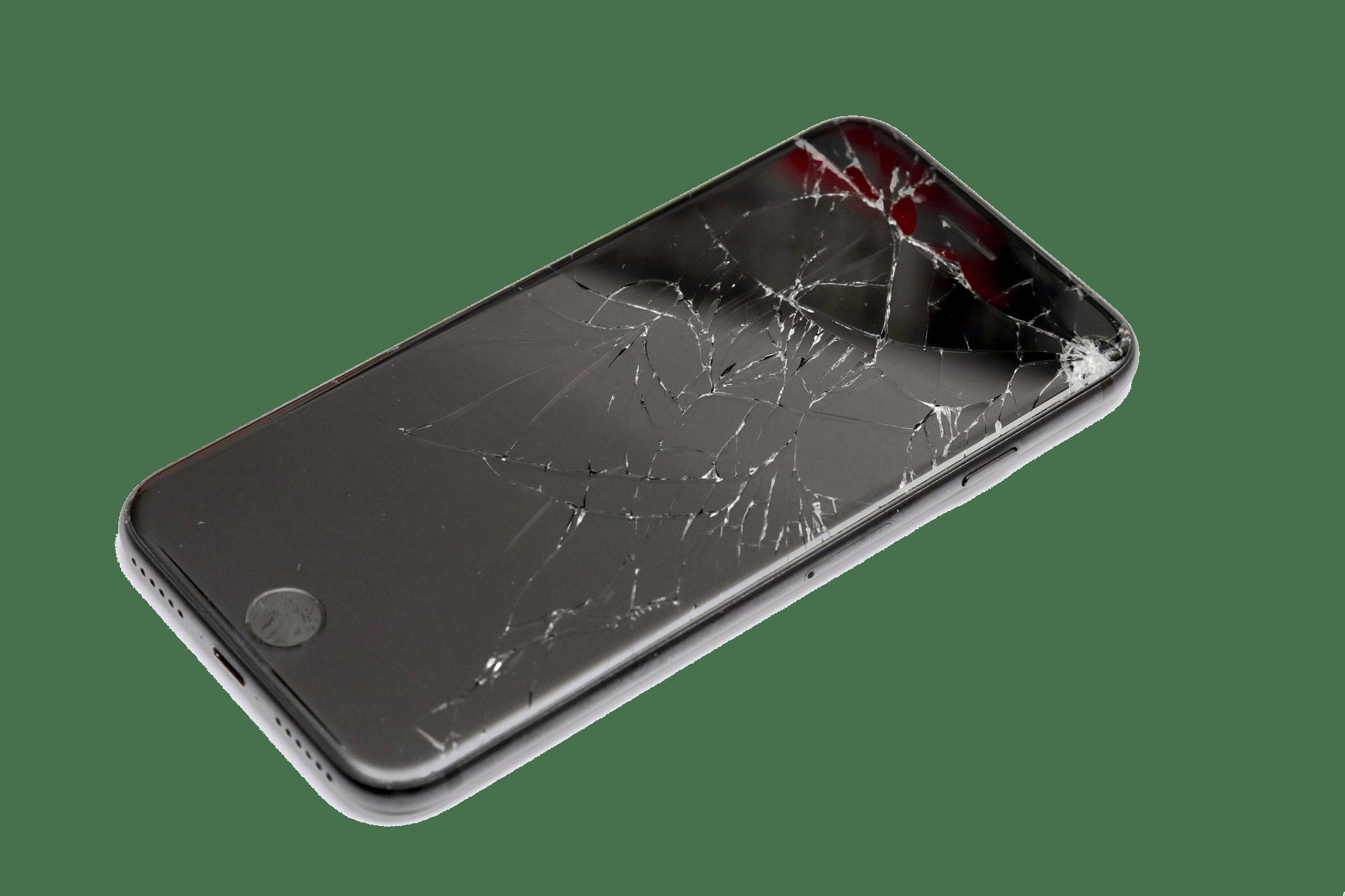 Ødelagt-telefon
